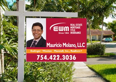 Picture Realtor Sign
