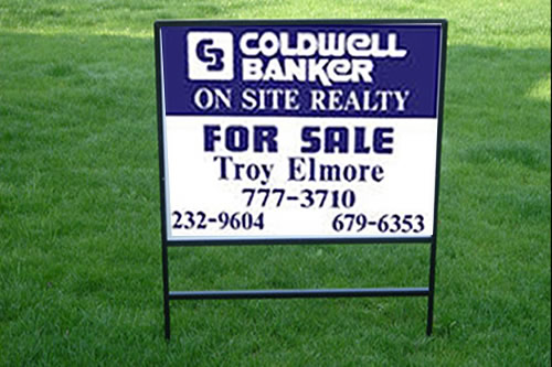 Real Estate Signs : Realtor signs riders plastic or metal open house