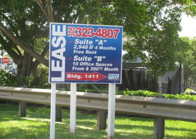 Realtor Lease Sign