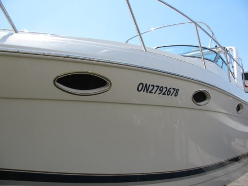 Boat DOT Numbers