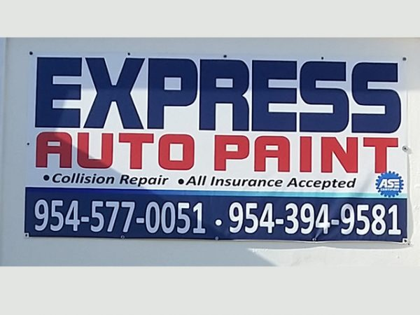 Vinyl Outdoor Banner Sign